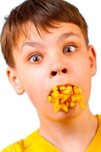 Americans Speak With Potato in Mouth