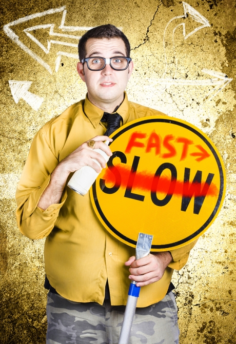 Fast vs Slow English Pronunciation Improvement
